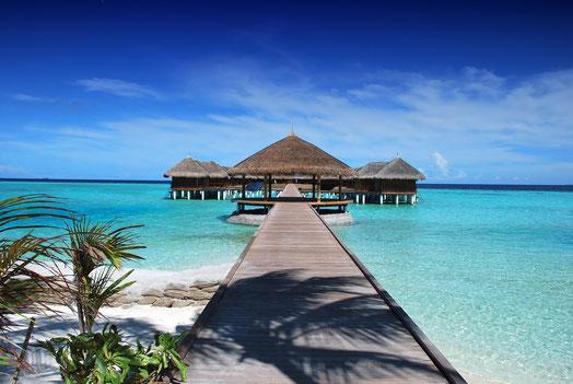 Der perfekte Ort für die Flitterwochen: die Malediven