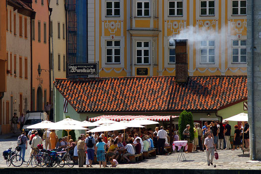 Wurstküche in Regensburg!