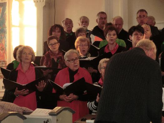 Herbstkonzert in Eschbach: Mix Dur und Da Capo am 01.11.2015. Foto privat