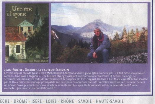 Magazine Jourpost - distribué aux facteurs de la région Rhône-Alpes - octobre 2006