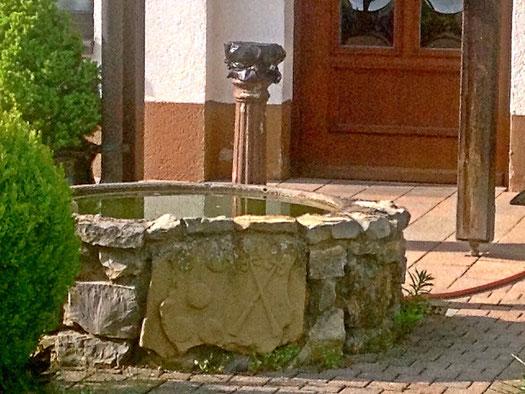 Hier ist der 5. und letzte Brunnen.