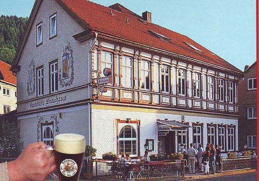 Das alte Brauhaus in Friedrichsroda