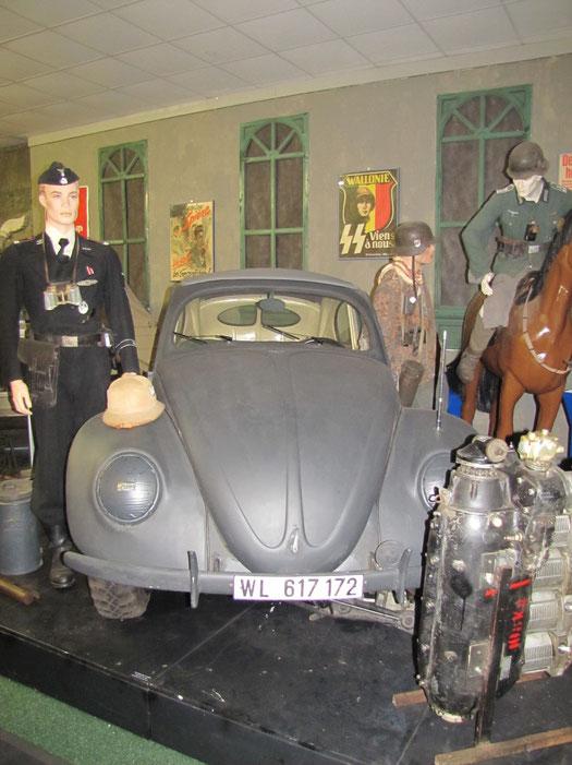 In diesem Fahrzeug türmte eine Nazigröße gegen Ende des Krieges aus dem Baltikum