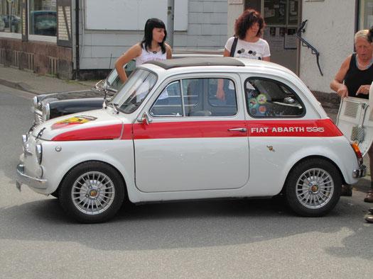 Hat nicht schlecht geröhrt: Fiat 500 Abarth.