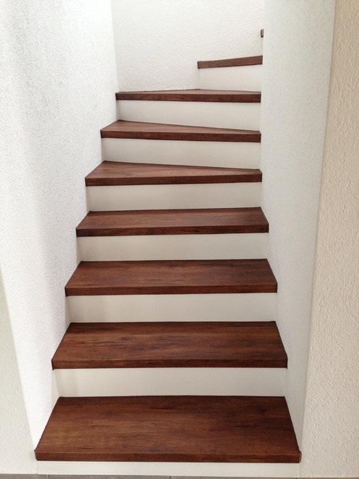 vinyl hydro top sound auf treppe mit alukante bodenbel ge brittnau bodenleger parkett laminat. Black Bedroom Furniture Sets. Home Design Ideas