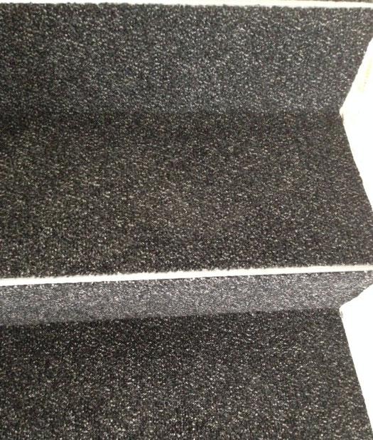 Schmutzschleuse coral classic auf Treppe