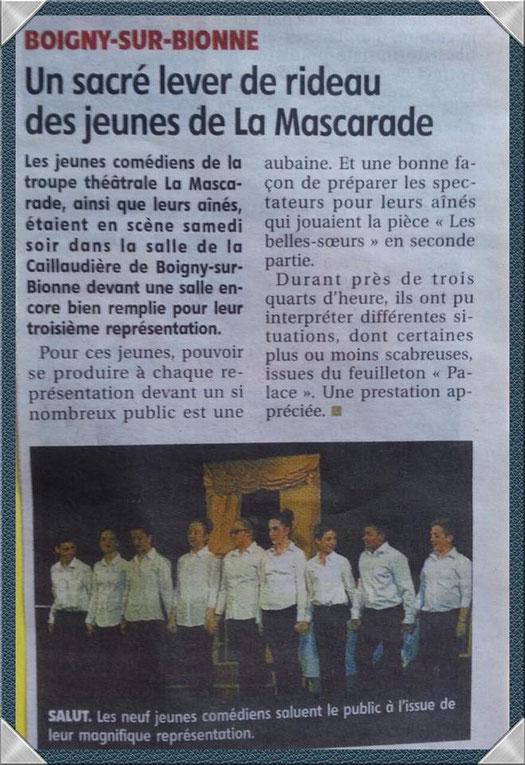 La Mascarade - Boigny sur Bionne - Larep - Avril 2015