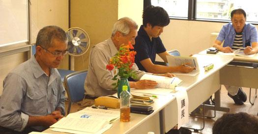 今回、代表は五藤さん(左から2人目)→上田さん(左端)へとバトンタッチ。