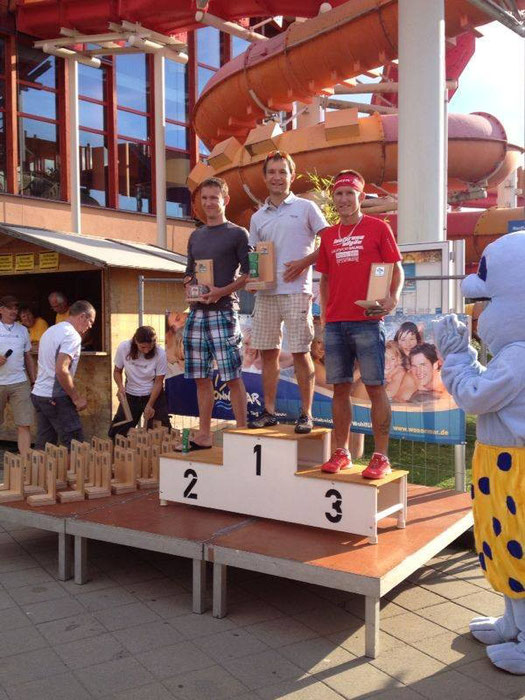 1. Philipp Quack, 2. Michael Ender, 3. Steffen Wittmann