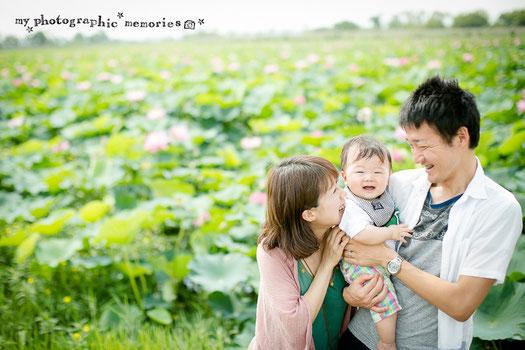 MPMの家族写真 ロケ撮影