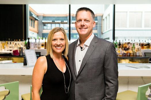 Nella foto Erin e AJ Hinch