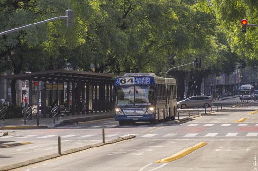 Busfahren in Buenos Aires
