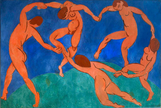 La danse, Matisse, 1910.