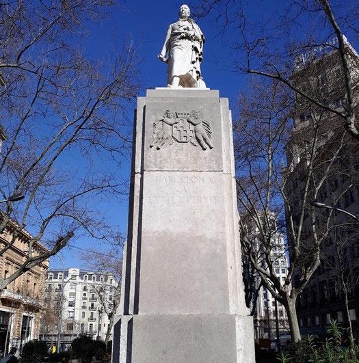 Памятник Жоану Гуэлю в Барселоне - памятники и скульптуры в Барселоне.
