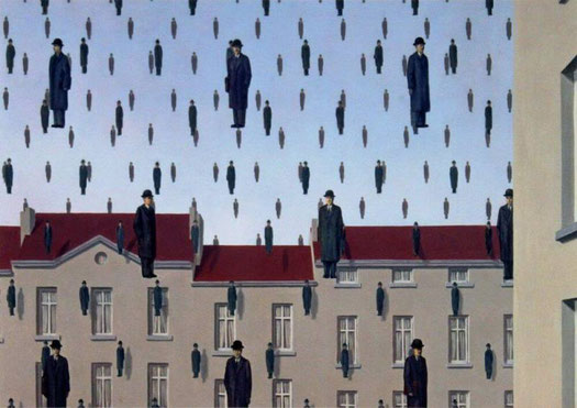 Самые известные картины Рене Магритта - Голконда