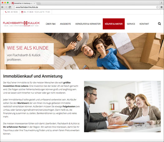 Flachsbarth & Kullick · Website-Relaunch  · © WINTERPOL Hamburg