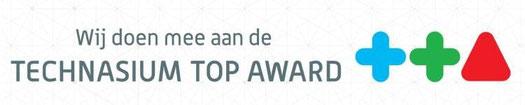 De scholen van Technasium netwerk Brabant-Oost nemen deel aan de Technasium Top Award!