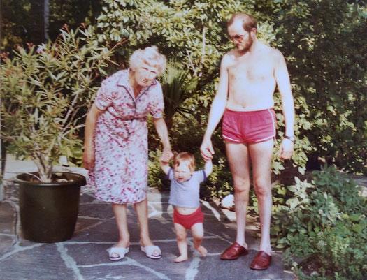 Anfang der 80er Jahre im Tessin - Familienerinnerungen ...