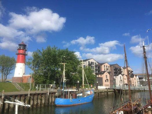 Nordsee Büsum Museumshafen  Lighthouse Hotel 2019 nordseeostseeonline ostsee