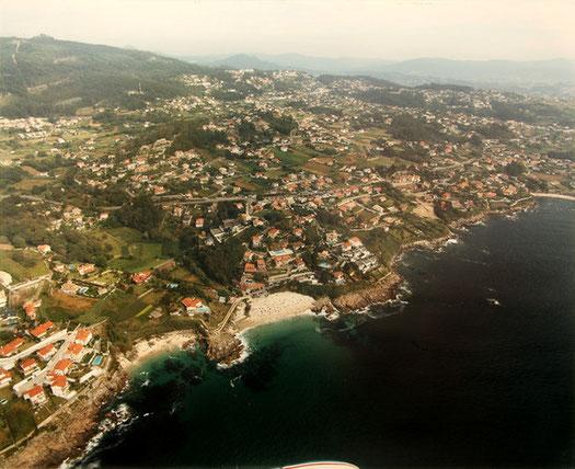 Vista aérea de Saiáns