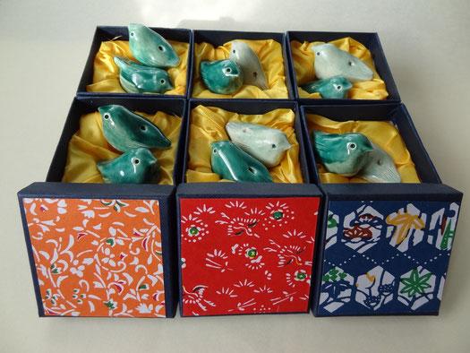 oiseaux en poterie siffleur