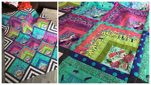 Electric Slide Quilt Mini Version