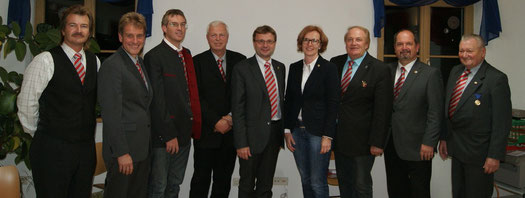 Markus Hötzinger, GF Thomas Loidl, Wolfgang Neumüller, Gerhard Dubszka, Hannes Heide, Heidemarie Stögner, Herwart Loidl, Günter Erhartmaier, Franz Wappl