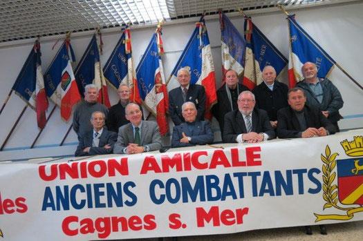 Assemblée génrérale de l' Union Amicale des Anciens Combattants de Cagnes sur Mer le 20 janvier 2013