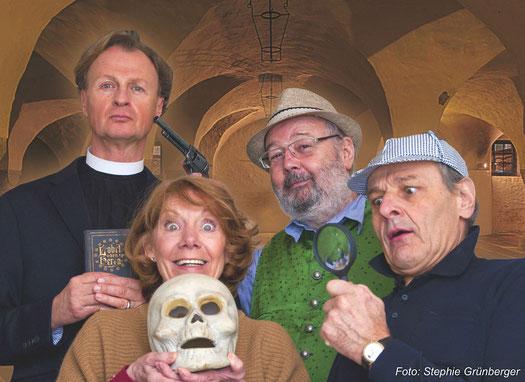 Kurt Hexmann, Erika Deutinger, Helmut Korherr, Stephan Paryla-Raky, Foto: © Stephie Grünberger