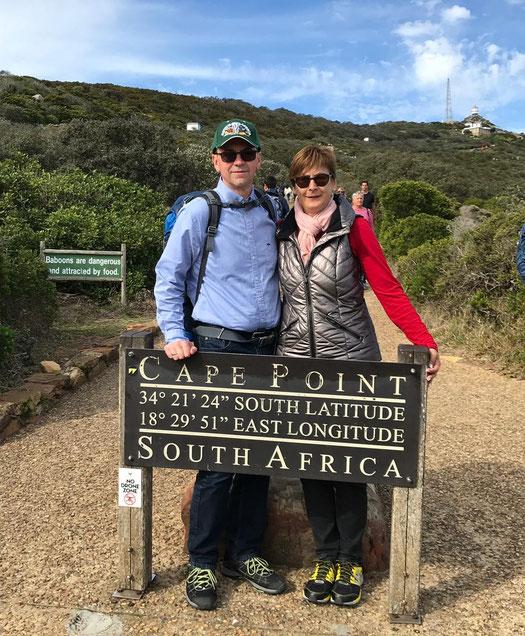 Harald und Heike Muth in Südafrika.