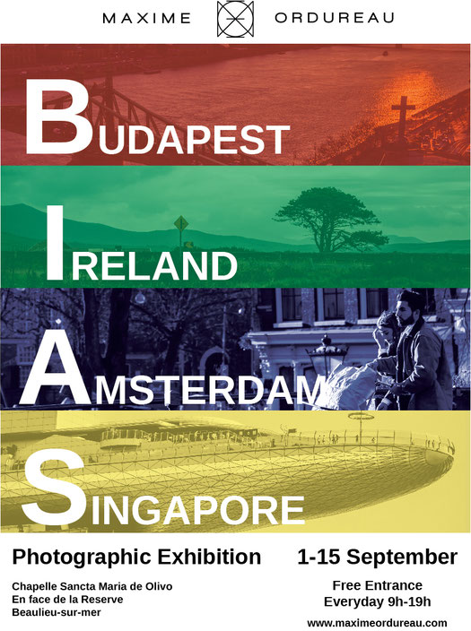 B.I.A.S. photographic exhibition in beaulieu-sur-mer france photography exposition fine art ireland budapest singapore and amsterdam are featured in a well done and coherent venue with talented artist