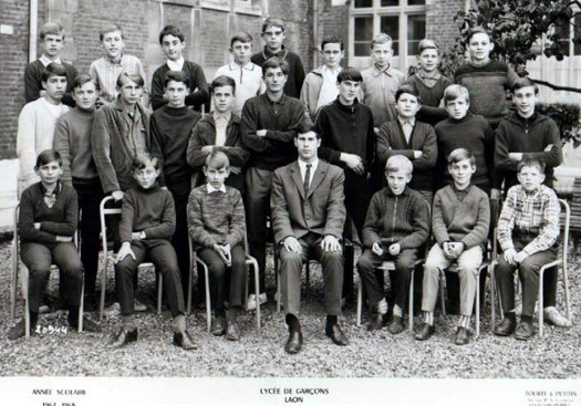 photo de classe Laon 1968 -6cl