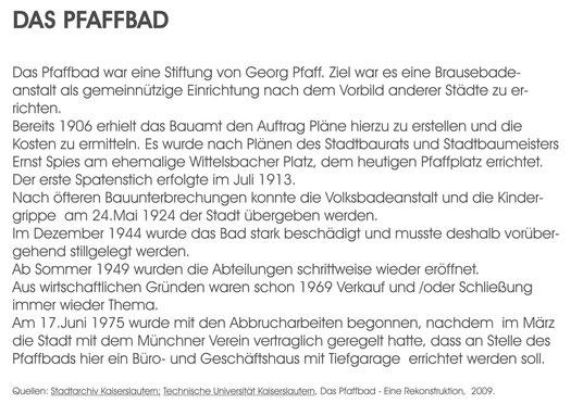 Verein für Baukultur und Stadtgestaltung Kaiserslautern e. V.  - Pfaffbad Text