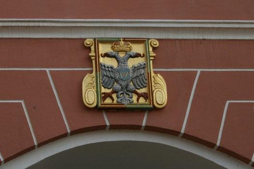 Stadtwappen am Rieder Tor