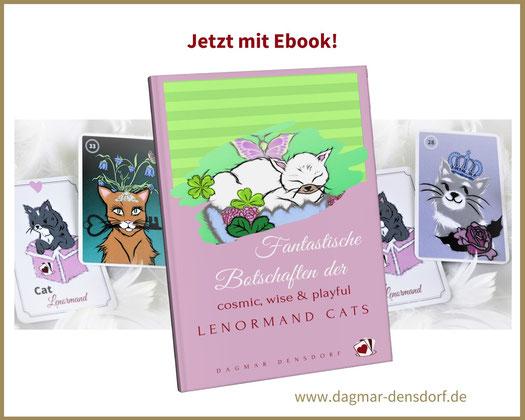 Cat Lenormand by D.D. - Ebook mit Wahrsagekarten