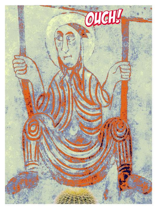 """Der """"Schaukler"""" von St. Prokulus - leicht verfremdet"""