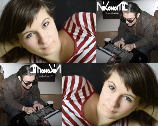 Kirsten Fuchs und Nikonomic Hitman