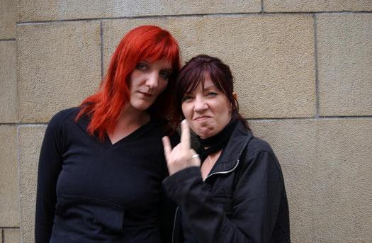 Wüst'n'Rot: Dagmar Schönleber und Katinka Buddenkotte