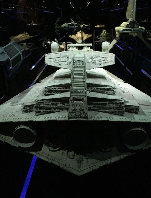 image: nina luca, star wars, star wars identities, star wars münchen, star wars exhibition, jedi, lightsaber, sith lord, dark side,  starship,