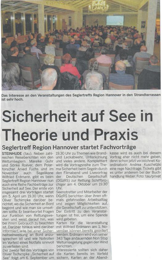 Wunstorfer Stadtanzeiger, 1. April 2018