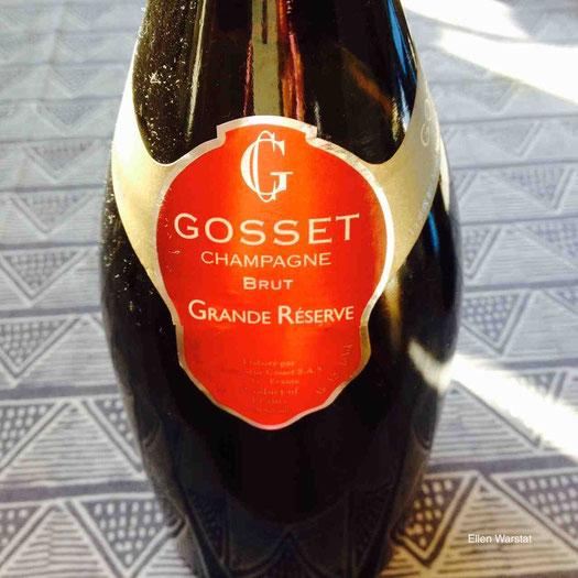 Champagne Gosset Brut Grande Réserve Champagner Epernay Ellen Warstat Reisen mit Genuss