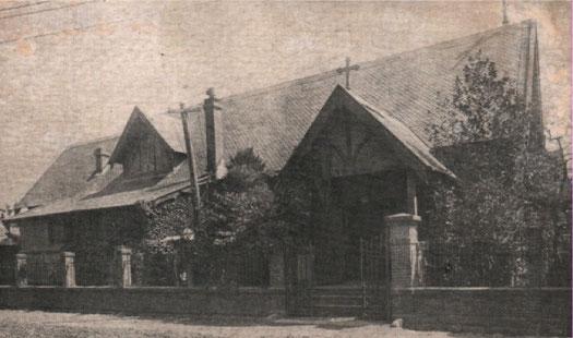 1905年に建てられた仙台聖公会