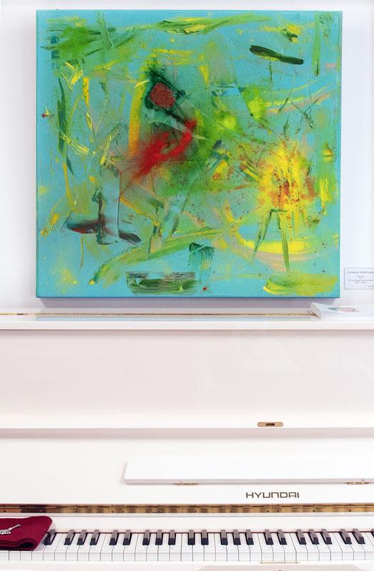 """Thoughts"", 2019 copyright Christina Mitterhuber at Galerie Artinnovation, Innsbruck."