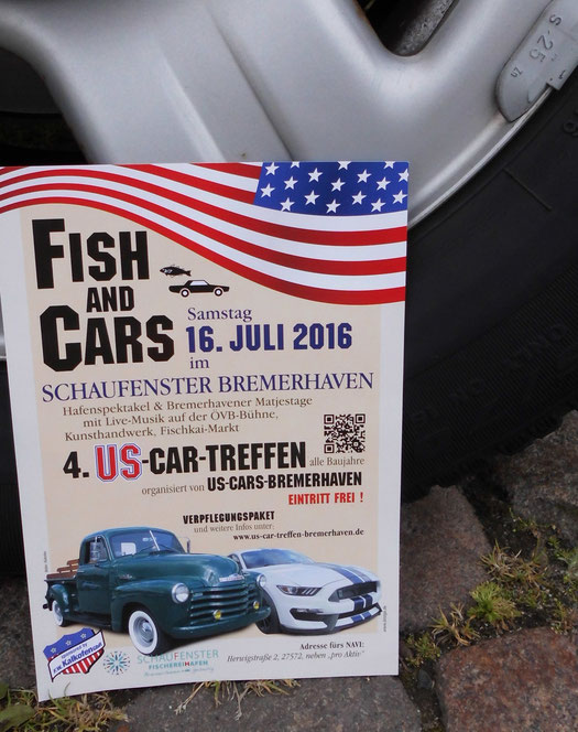 Bild: Fish and Cars Bremerhaven, HDW, US-Cars, Ford