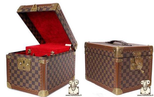 Boîte à flacons Louis Vuitton vanity damier