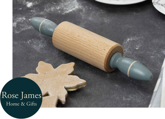 Handcrafted Rolling Pin By Rose James Design, featured in the PASiNGA curated Christmas artisan gift guide