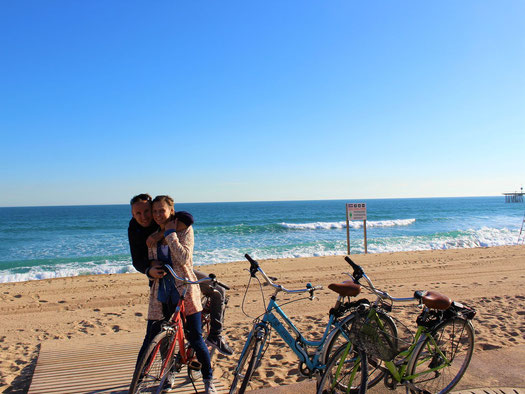Strand, Barcelona, Meer, Badalona, Katalonien