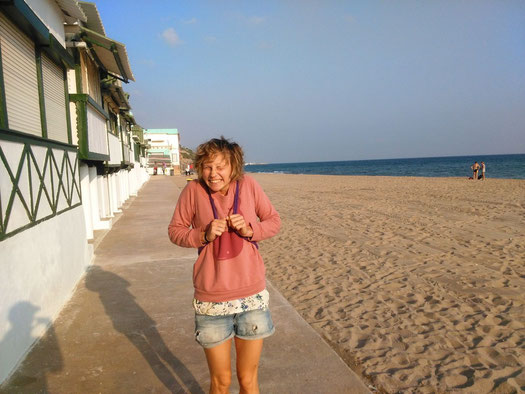 playa, beach, garraf, ocean, see, barcelona