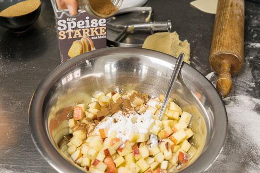 Apfelstreuselkuchen Apple Crumble Kochstudio Bilou