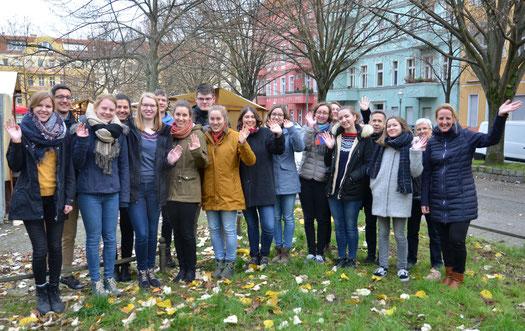 Teilnehmer des Ehemaligentreffens in Berlin